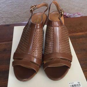 Naturalizer Open Toe Heel size 6.5